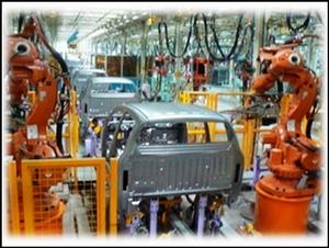 SUV皮卡主焊生產線1